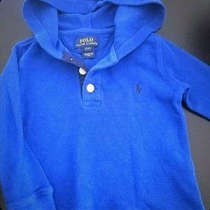 Ralph Lauren Polo hoodie 2T